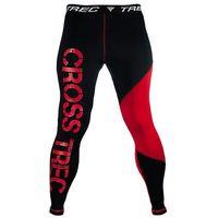 Spodnie Trec Nutrition MEN'S TREC WEAR - CROSSTREC 001 - PROPANTS/BLACK-RED, 1 rozmiar