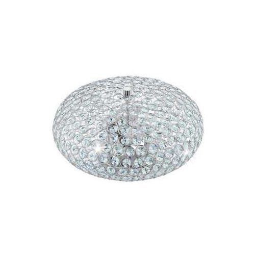 Eglo 95284 - Kryształowa lampa sufitowa CLEMENTE 2xE27/60W/230V (9002759952846)