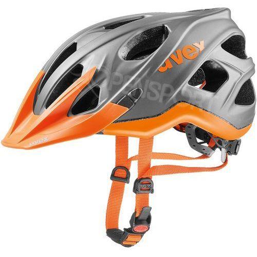 Kask rowerowy stivo cc m 52-57 cm pomarańczowy marki Uvex