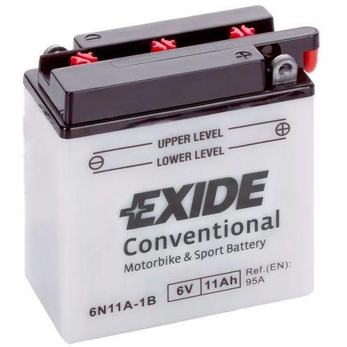 Exide Akumulator motocyklowy 6n11a-1b 6v 11ah 95a en p+