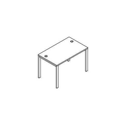 Biurko proste BSA71 wymiary: 116x70x75,8 cm, BSA71