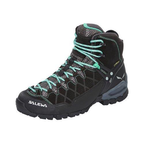 Salewa alp trainer mid gtx buty kobiety czarny 39 buty turystyczne