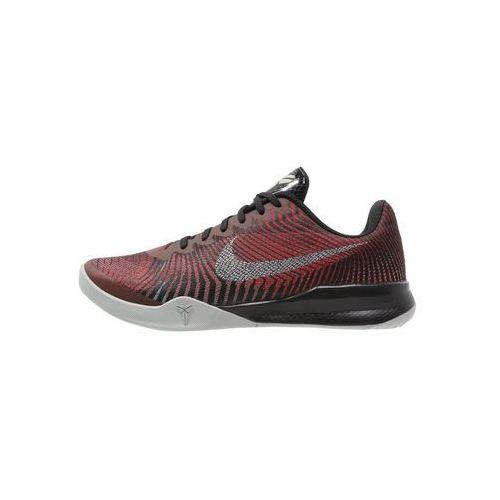 Nike Performance MENTALITY 2 Obuwie do koszykówki black/metallic silver/university red, 818952