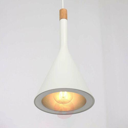 cornucopiua lampa wisząca biały, 1-punktowy - - obszar wewnętrzny - cornucopiua - czas dostawy: od 10-14 dni roboczych marki Steinhauer