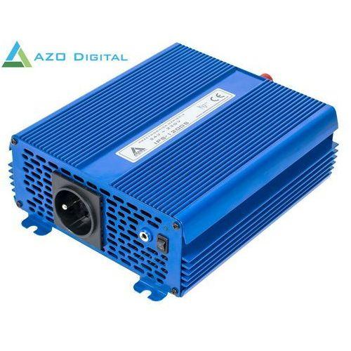 Azo digital Przetwornica napięcia 24 vdc / 230 vac eco mode sinus ips-1200s 1200w (5905279203952)