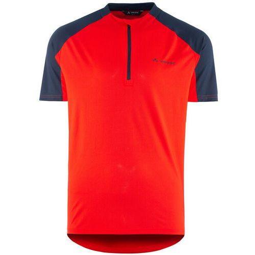 se me maro koszulka z zamkiem błyskawicznym mężczyźni, mars red s 2020 koszulki kolarskie marki Vaude