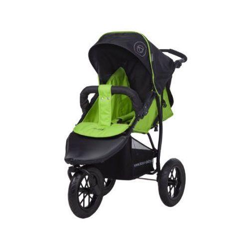 knorr-baby Wózek sportowy Joggy S Happy Colour zielony (4250341310184)