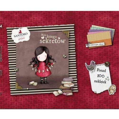 Santoro. Moja księga sekretów, oprawa broszurowa