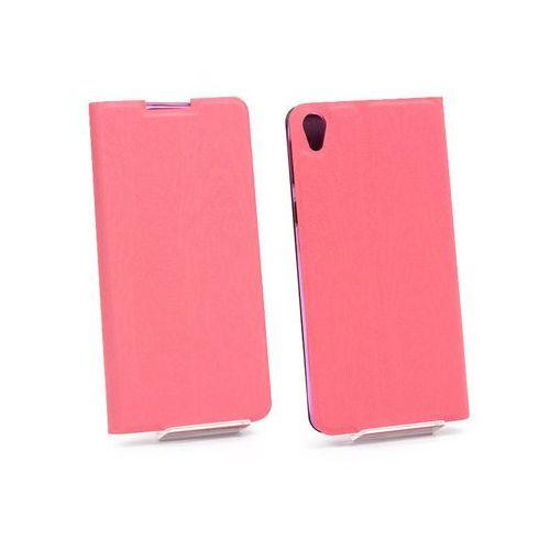 Sony Xperia E5 - etui na telefon Flex Book - różowy, kolor różowy