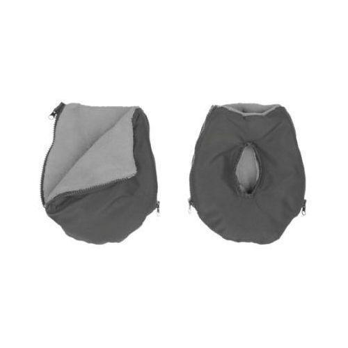 ALTABEBE Mufka Alpin - ocieplacz rąk na wózek dziecięcy kolor ciemnoszary-jasnoszary (4260315691928)
