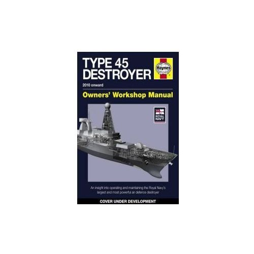 Royal Navy Type 45 Destroyer Manual, książka z kategorii Literatura obcojęzyczna