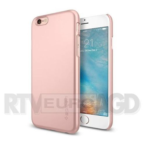Etui SPIGEN iPhone 6S Case Thin Fit Gold Rose (Metalic Pink) SGP11766, kup u jednego z partnerów