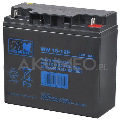 Mw power Akumulator agm mw 18-12f vrla 12v 18ah