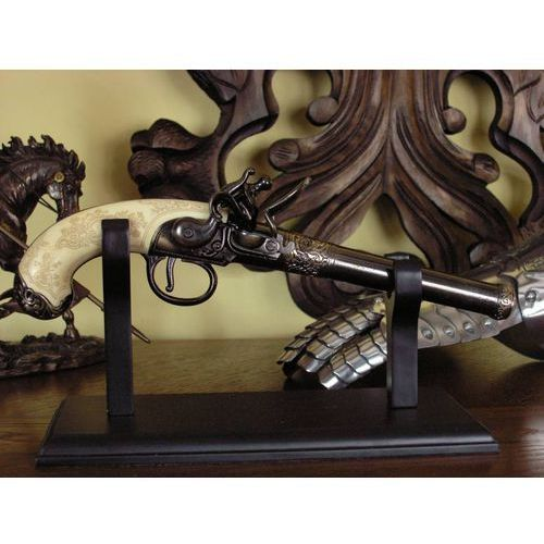 Oryginalny belgijski pistolet skałkowy z xviiiw. (1243/l) marki Denix