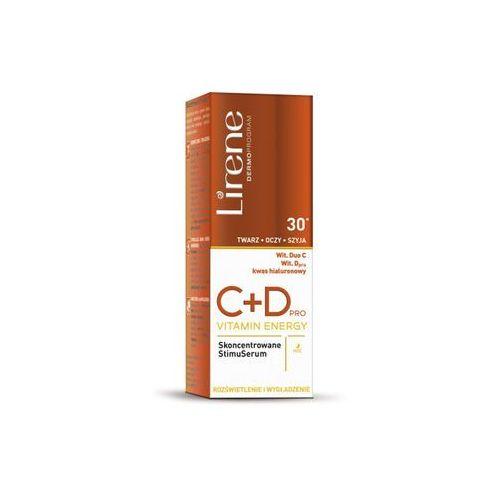 Lirene C+D Pro Vitamin Energy skoncentrowane StimuSerum do twarzy 30+ 30ml, 16707