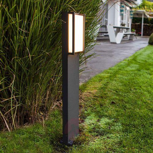 Qubo, słupek ogrodowy LED w prostoliniowej formie (6939412079103)