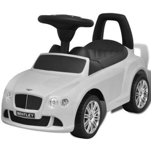 bentley - samochód zabawka dla dzieci napędzany nogami biały marki Vidaxl