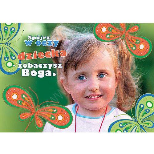 Kartka uśmiech dziecka - spójrz w oczy z kategorii Dewocjonalia
