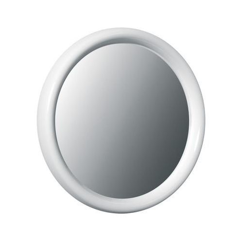 Lustro łazienkowe Bisk OCEANIC plastik biały, 51302