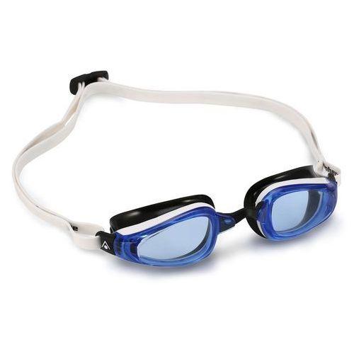 Aquasphere okulary k180 niebieskie szkła biały-czarny marki Aqua sphere