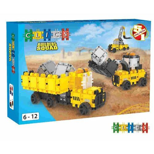 Klocki Clics Builders Squad
