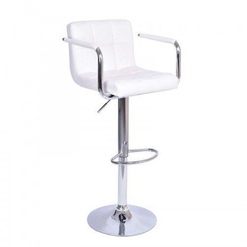 Krzeslaihokery Hoker macan biały