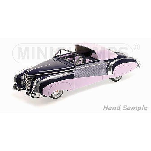 Minichamps Cadillac serie 62 cabriolet coach builder jaques saoutchik 1948 (4012138124547)