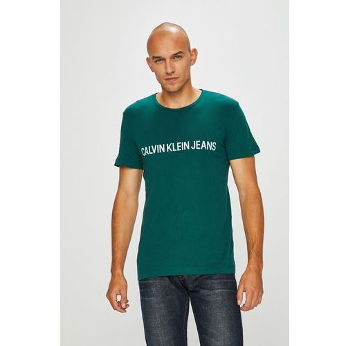 - t-shirt marki Calvin klein jeans
