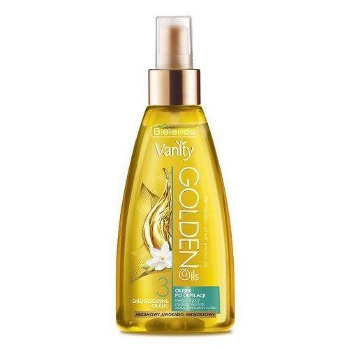 Bielenda, Vanity Golden Oils, olejek po depilacji łagodzący, 150 ml z kategorii kremy po depilacji