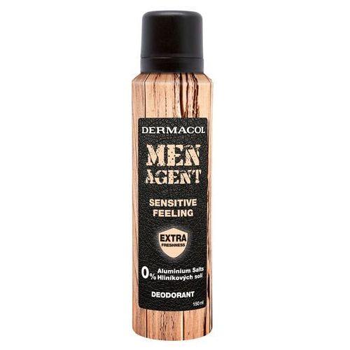 Dermacol Men Agent Sensitive Feeling dezodorant 150 ml dla mężczyzn