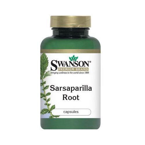 OKAZJA - Swanson, usa Swanson sarsaparilla 450mg 60 kaps.