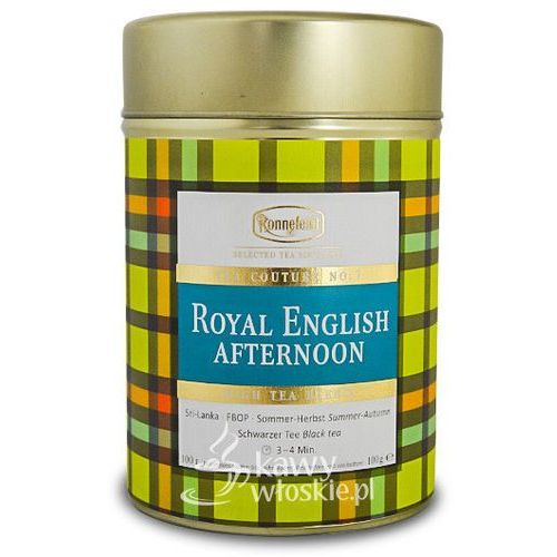 Czarna herbata Ronnefeldt Couture Royal English Afternoon 100g, towar z kategorii: Czarna herbata