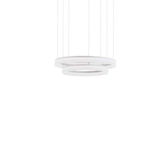 Leds-c4 circ lampa wisząca biały, 2-punktowe - nowoczesny - obszar wewnętrzny - circ - czas dostawy: od 2-3 tygodni (8435381418021)