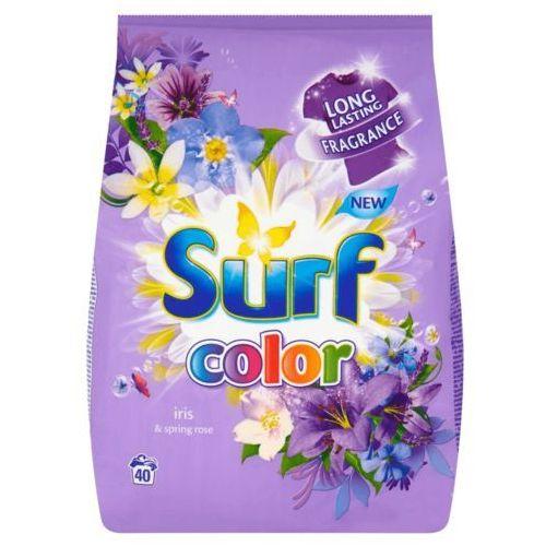 Proszek do prania tkanin kolorowych Surf Iris & Spring rose 2,8 kg