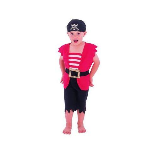 Go Kostium pirat czerwony - 92/104 cm (5901238657927)