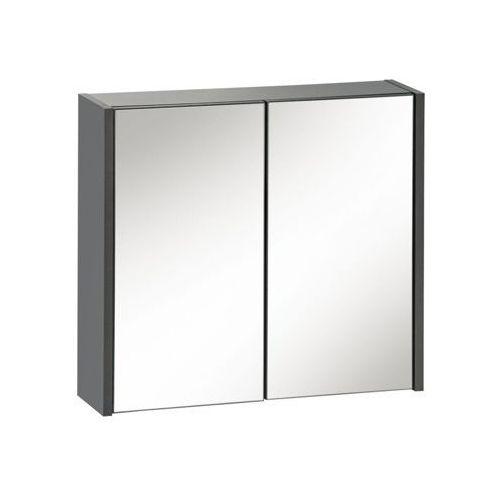 Szafka wisząca z lustrem 60 cm bali szary marki Comad