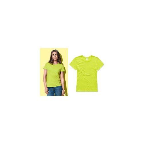 Stedman Classic ST2600 damska koszulka t-shirt – limonkowa / Bright Lime