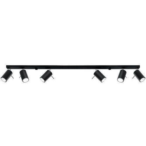 Sollux Ring 6L SL.0334 Plafon lampa sufitowa 6x40W GU10 biały >>> RABATUJEMY do 20% KAŻDE zamówienie!!! (5902622428338)