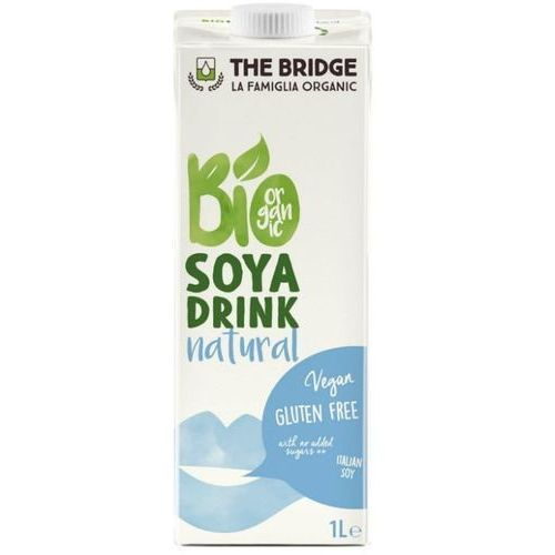 Napój Sojowy Naturalny Mleko Sojowe 1L - The Bridge - EKO HIT! (8019428007005)