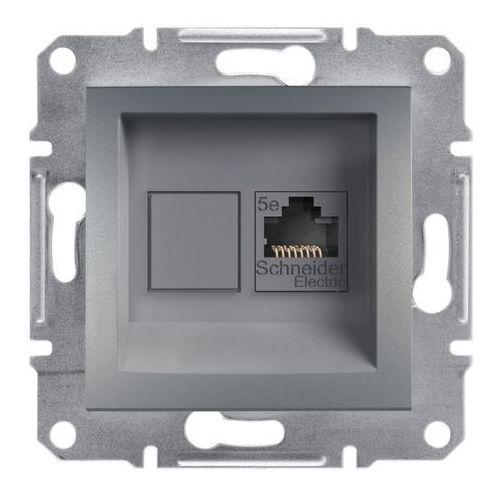 Schneider electric Gniazdo komputerowe asfora kategoria 5e stal (3606480730610)
