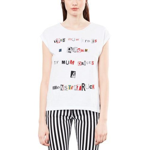 Q/S designed by ROBIN SCHULZ Tshirt z nadrukiem white, bawełna