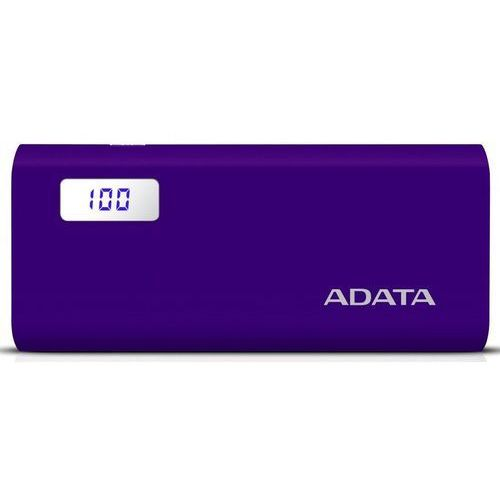 Adata power bank p12500d 12500mah purpurowy 2.1a (4713218463739)