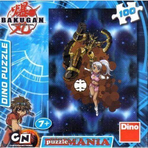 Puzzle 100 bakugan julie and gold dino marki Dino toys