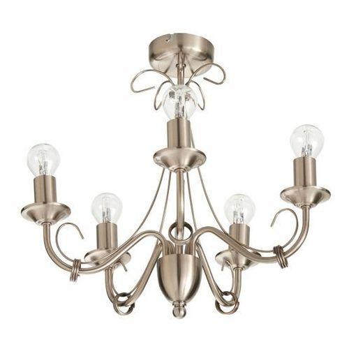 Lampa sufitowa Colours Inuus 5 x 60 W E14 chrom