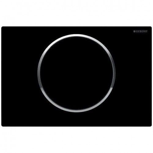 Geberit przycisk sigma 10 czarny/chrom/czarny 115.758.km.5