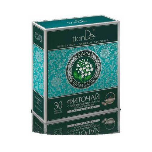 Tiande Herbata ziołowa z dzięglem chińskim i wiązówką dla kobiet dary shambhala 123913 (4650061390372)