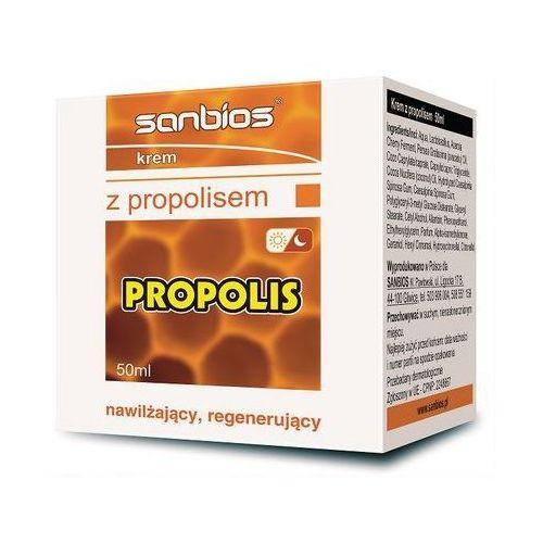 SANBIOS Krem z propolisem 50ml, 21SANKREPR