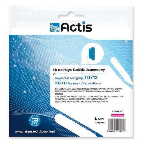 Actis KE-713 (Epson T0713 D92/DX7450 ) Magenta Darmowy odbiór w 21 miastach!, kolor Magenta