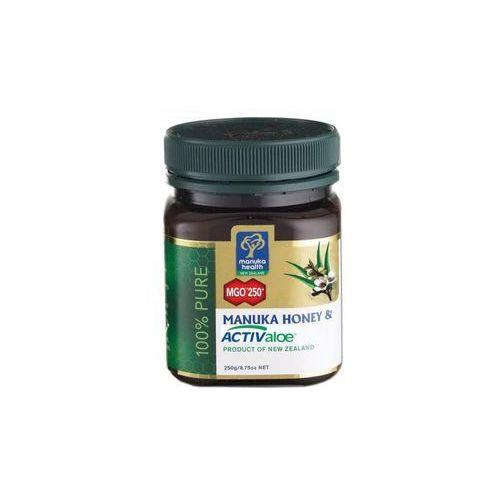 Miód manuka 250+ z żelem activ aloe 250g marki Manuka health