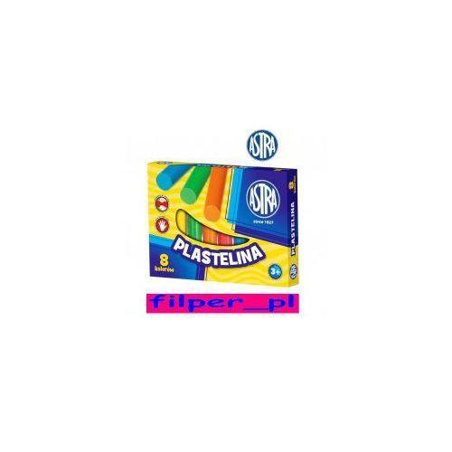 Plastelina ASTRA 8 kolorów, E86B-865CD